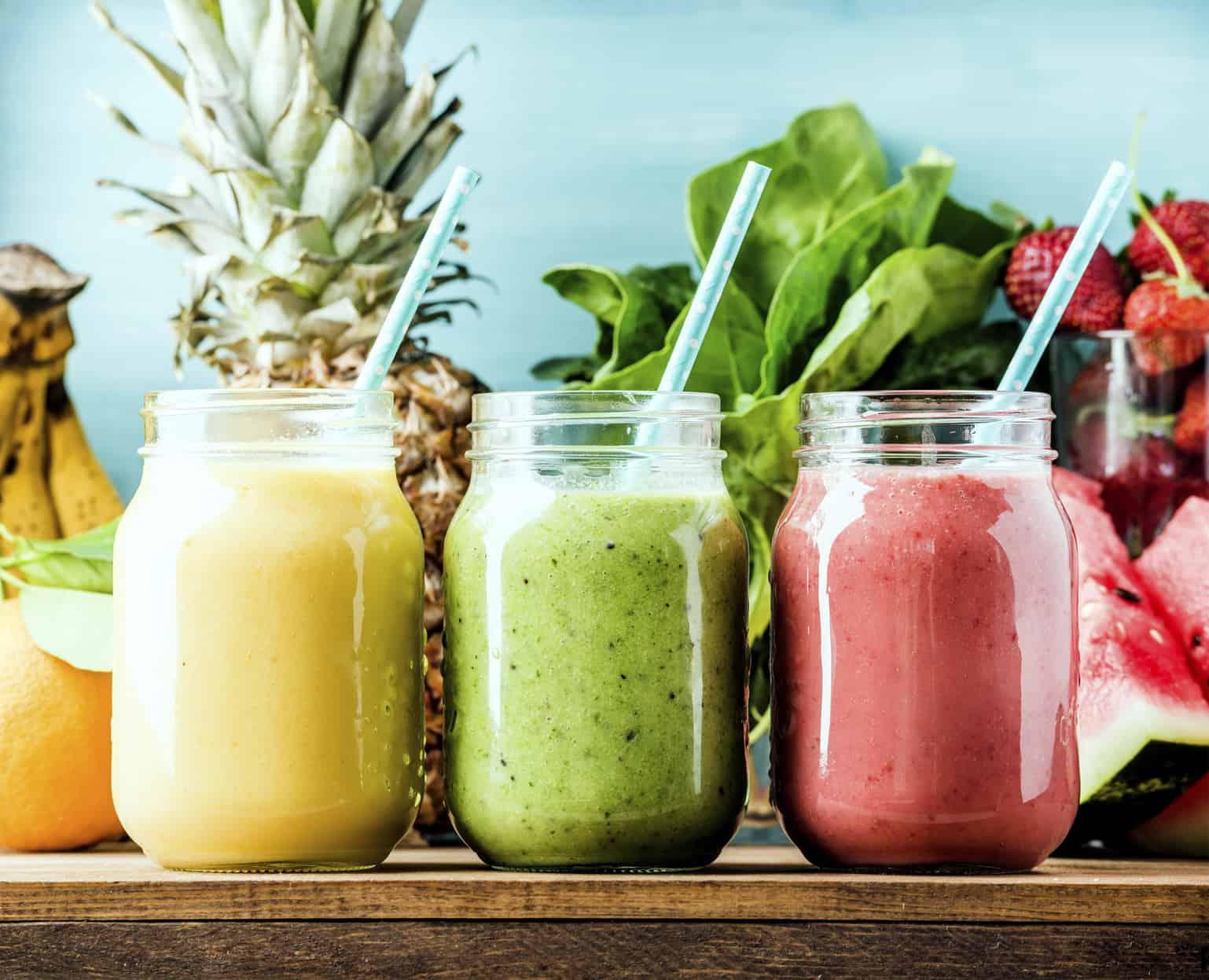 healthy fruit drinks