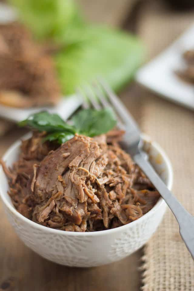 Low Carb Lamb Barbacoa In Slow Cooker