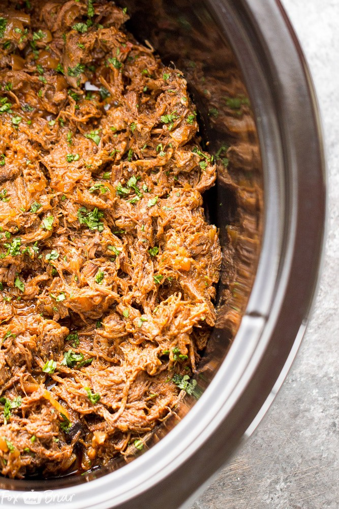 Slow-Cooker-Mexican-shredded-beef-