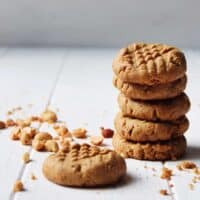 Chewy and Moist Keto Peanut Butter Cookies