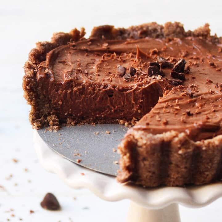 Mini Keto Chocolate Cheesecake