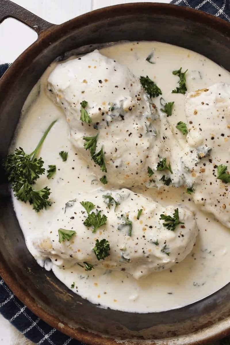 keto-garlic-butter-chicken-cream-cheese-sauce