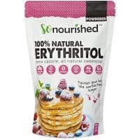 Powdered Erythritol Sweetener (1 lb / 16 oz) - Perfect for Diabetics and Low Carb Dieters.