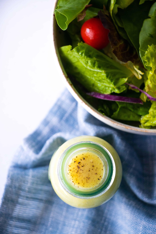 Keto Salad Dressing Tahini Mustard