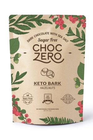 keto store bought chocolate bark