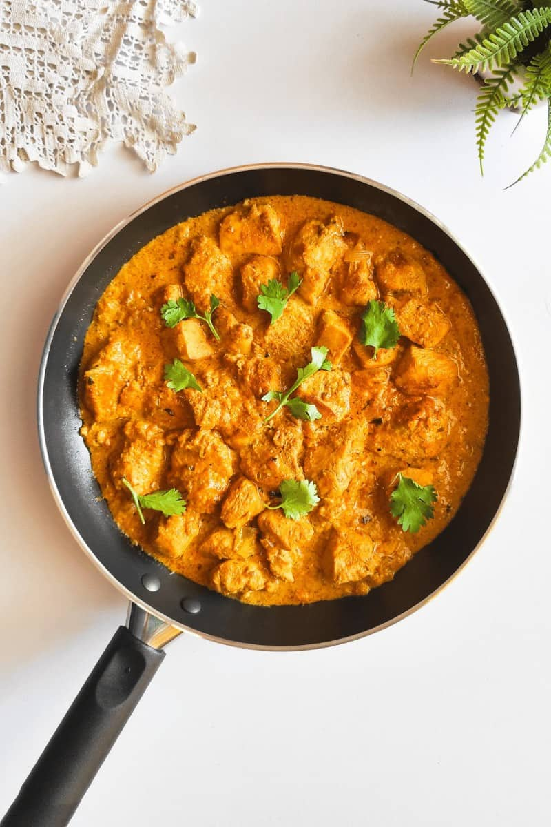 Keto Crock-pot Indian Butter Chicken