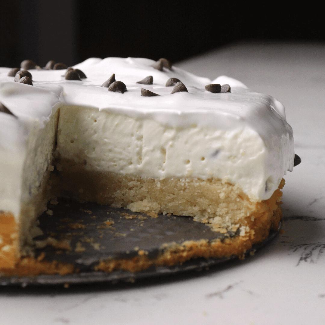 No-Bake Keto Grasshopper Pie