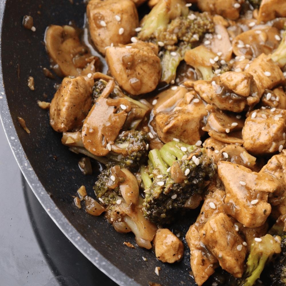 Keto Chicken And Broccoli Stir Fry