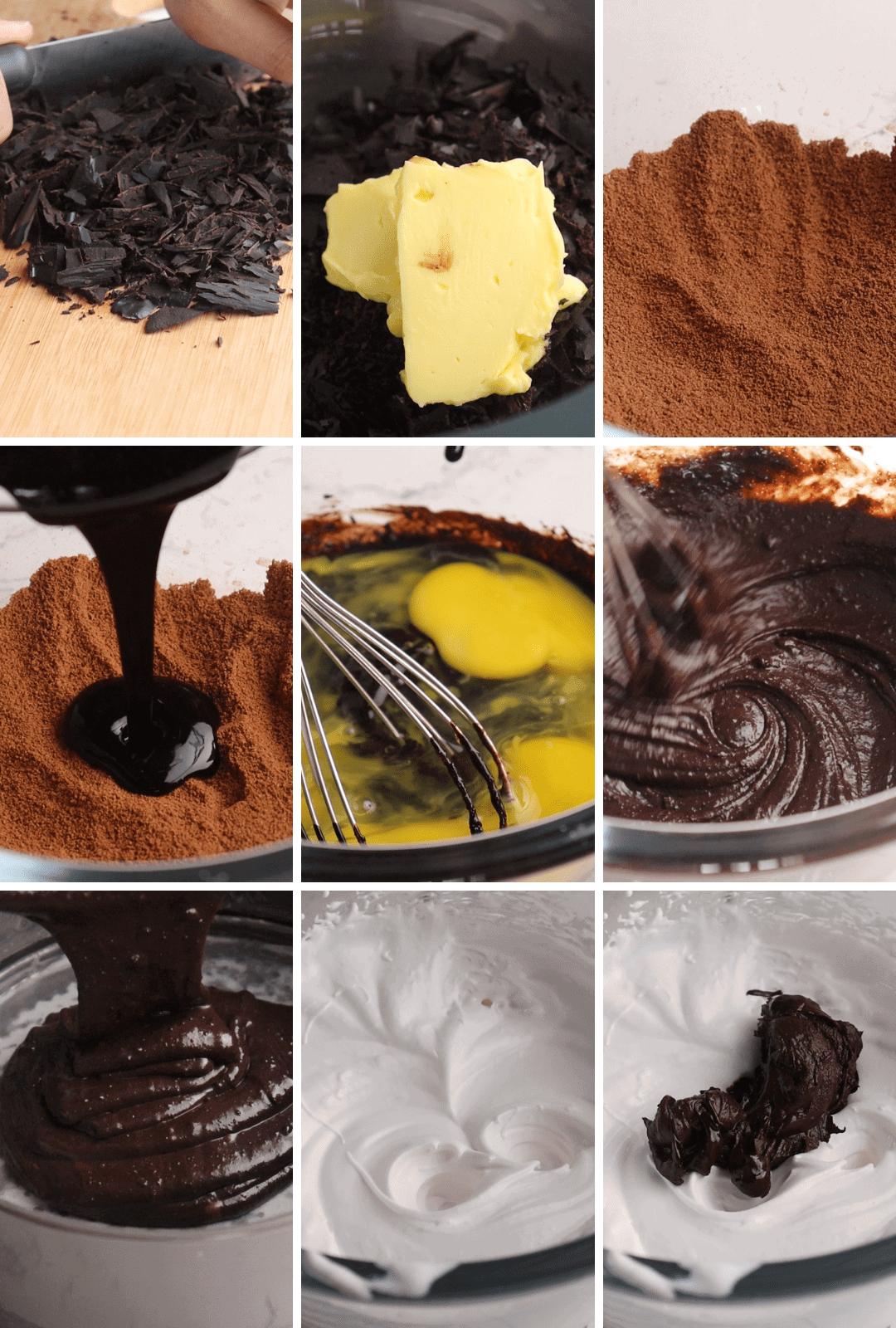 keto-low-carb-chocolate-cake-procedure-collage-thehealthcreative