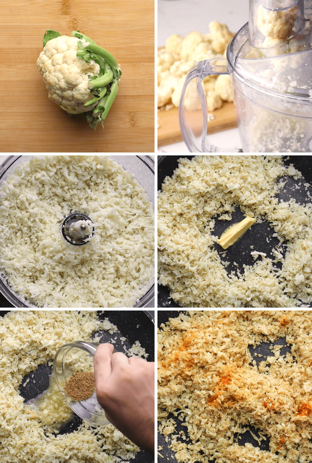 keto-chicken-and-rice-procedure-collage-2